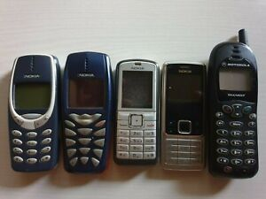 Nokia 3510i, 3310, 6070, 6300 und Motorola T180