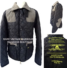 BARBOUR Vintage VARIAGATED SPORTING QUILT Limited Edition TO KI TO Jacket #2523