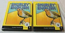 Shurley English Student Textbooks Set Level 1 Book A & B VGC Set