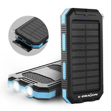 X-DRAGON 300000mAh Dual USB Solar Charger Power Bank Battery Charger For Phone