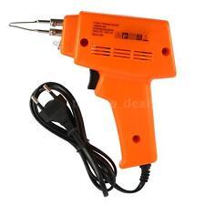 220-240V Electric Rapid Heating Welding Soldering Iron Gun Set 100W EU Plug A6X9