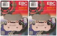 EBC Double-H Sintered Metal Brake Pads FA69HH (2 Packs - Enough for 2 Rotors)