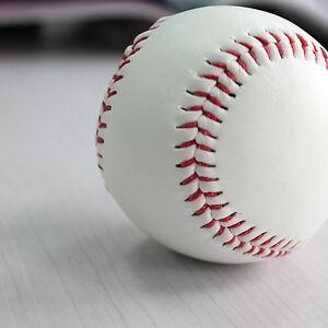 "9"" Soft Leather Sport Practice & Trainning Base Ball BaseBall Softball New *wf"