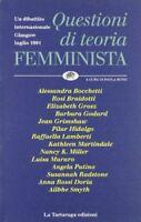 (Good)-Questioni di teoria femminista (Paperback)-Paola Bono-8877381256