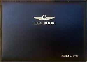Personalized Commercial Pilot Logbook Binder (for use with Logbook Software)