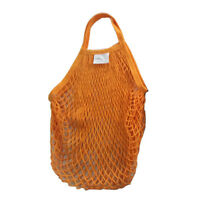 New Cotton String Mesh Shopping Grocery Bag Reusable Tote Basketball Storage Net