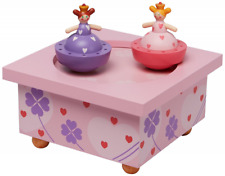 Musical Wooden Box Music Jewellery Jewelry Box For Children Kids Child Toy Gift