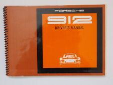 Porsche 912 Drivers Manual 116 Seiten