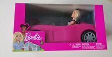 Barbie Convertible Car And Doll Set BNIB New Sealed Free Post