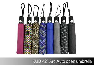 KUD 42 inch Arc Compact Lightweight Auto-open umbrella