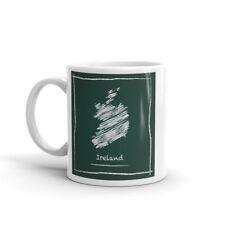 Beautiful Ireland Sketch Mug Gift Idea Irish Dublin Holiday Éire Republic #7988