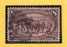 US STAMP SC# 289 8c 1898 VF USED CV$47.50 037