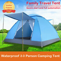 Waterproof Camping Tent Quick Set Up Outdoor Hiking Backpacking Tent Shelter