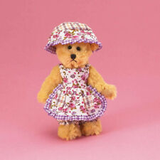 "Boyds Bears Molly w/Floral Apron Lil' Darlin's 5"" Dressed Plush Bear ~ 4021487"