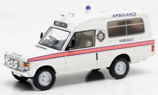 MATRIX SCALE MODELS- RANGE ROVER MK1 HERBERT LOMAS AMBULANCE SOMERSET 1:43 SCALE