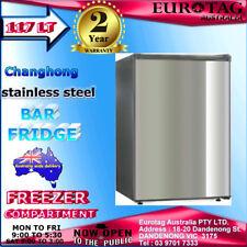 Changhong 117L Stainless Steel  Bar Fridge brand new 2 years warranty