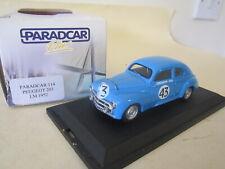 Paradcar Plus 114 .1:43 Le Mans LM 24Hrs 1952 Peugeot 203C Constantin No.43 MINT