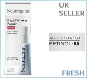 Neutrogena Rapid Wrinkle Repair SERUM Anti-Wrinkle RETINOL Cream MAX STRENGTH