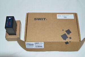SWIT S-3602V 2-ch JVC BN-VF Charger + SWIT S-8823 BN-VF823 Battery