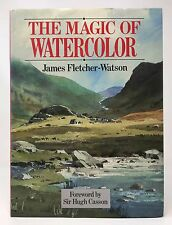JAMES FLETCHER-WATSON The Magic of Watercolor HB/DJ