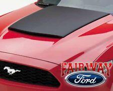 15 thru 17 Mustang OEM Genuine Ford AirDesign Hood Scoop Kit - Satin Black - NEW