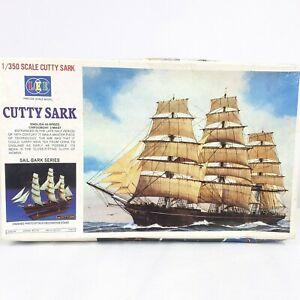Cutty Sark English Hi-Speed Cargo Boat 3 Mast Scale Model 1/350 Sail Bark Series