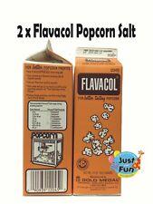 2 x 992(grams) Genuine FLAVACOL Butter Popcorn Salt! Cinema Quality Popcorn Salt