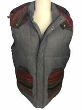 Men's Third & Army California Pioneers Outdoor Apparel Puffer Vest Aztec Size L