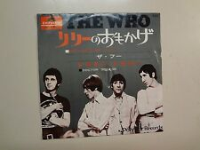 """WHO: Pictures Of Lily-Doctor!,Doctor!-Japan 7"""" 1967 Polydor DP 1539 PSL Flipback"""