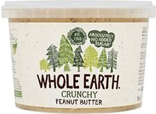 Whole Earth Peanut Butter Crunchy 1Kg (5 Pack)
