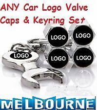 ANY Car Logo Emblem Wheel Tyre Tire Valve Air Dust Cover Screw Caps Toyota Holdn
