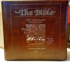 The Bible Complete Old Testaments On 36 Lifetime Cassettes Alexander Scourby EUC