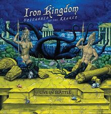 IRON KINGDOM - Unleashed at the Kraken (NEW*LIM.500*BLACK V.*CAN*F. WARNING)