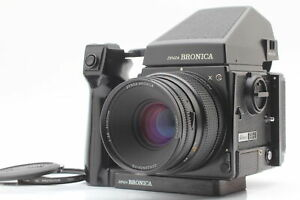 [Near MINT] ZENZA BRONICA GS-1 Body + AE Finder + PG 100mm F3.5 Lens from JAPAN