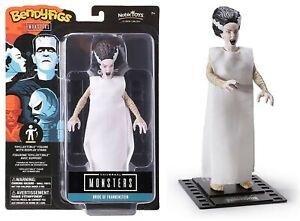 BendyFigs Universal Monsters - Bride of Frankenstein Action Figure NEW