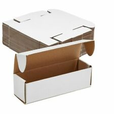 Corrugated Shipping Boxescardboard Mailers Folding Lids7x2x2 In 50 Pack