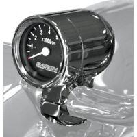 Bullet tachometer 3 black face w/ 1 clamp - Baron BA-7570-01