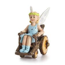 Klara Fairy w Wheelchair GO 17649 Miniature Fairy Garden Dollhouse