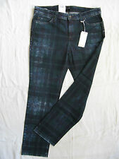 Mac Damen Blue Jeans 7/8 Stretch Gr.40 L28 low waist slim fit pipe leg W30/L28