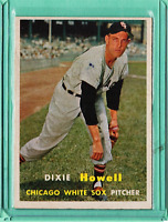 1957 Topps #221 Dixie Howell Chicago White Sox Exmt+