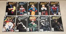 LOT OF 59 JUSTICE SOCIETY OF AMERICA (2007)  #1-54 COMPLETE SET (-3) + 1 SHOTS