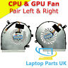 CPU and GPU Cooling Fan p/n: PAAD06015SL N285 compatible with Msi Laptop