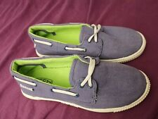 lovely KEEN Maderas Canvas Boat Slip-on Boys Shoes * size UK 13 / EUR 33