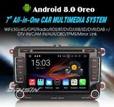 "AUTORADIO 7"" Android 8.0 octa core 4gb Vw Passat Tiguan Golf Polo navigatore gps"