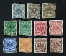 CKStamps: Germany Stamps Collection Scott#45-51 Mint H OG