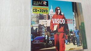 VASCO ROSSI - BUONI O CATTIVI (MODENA PARK EDITION CD + 2DVD SIGILLATO 2017)