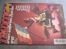 $$r Revue Tradition magazine N°87 Poilu 1917  Cavalier Hun  Sniper allemand 1944