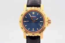 MEN'S KOBOLD SOARWAY DIVER 18K RED GOLD AUTOMATIC DIVE WATCH KD 242126