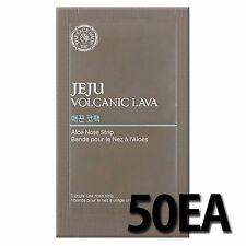 THE FACE SHOP 50EA Jeju Volcanic Lava Aloe Nose Strip
