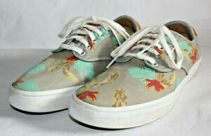 Vans Chima Ferguson Pro Sydney Skateboarding Shoes, Aloha Grey, Men's Size 9.5
